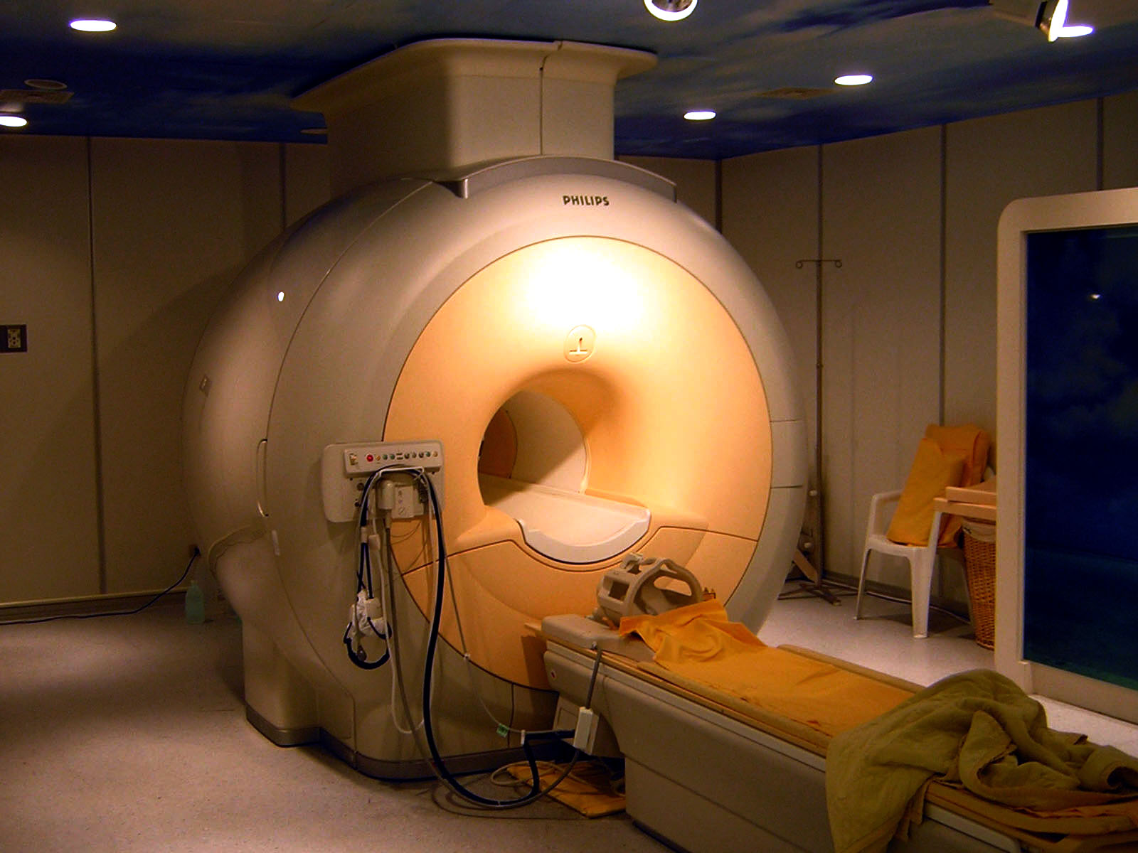 An example of an MRI Scanner