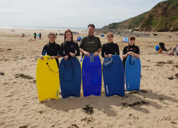 Body Boarding Group Photo